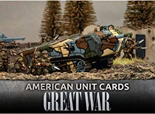 Flames of War The Great War American Unit Cards FOW GUS901