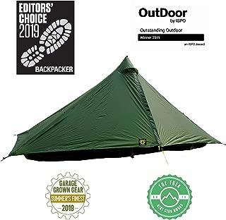 Six Moon Designs Lunar Solo Green 1 Person Tent 2020 Version