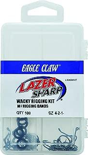 Eagle Claw LSWWKIT Lazer Sharp Wacky Worm Hook