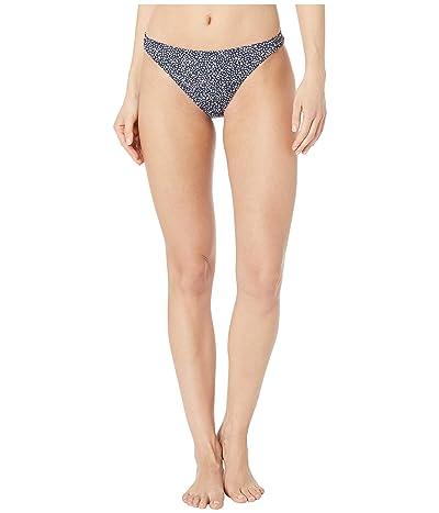 Roxy Print Beach Classics Fashion Full Bikini Bottoms (Mood Indigo Chaos) Women