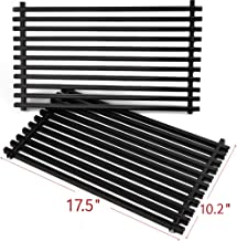 SHINESTAR 7637 Grill Grates for Weber Spirit E210 & Spirit S210, 17.5-inch Porcelain Enameled Cooking Grids Replacement Parts, Packs of 2
