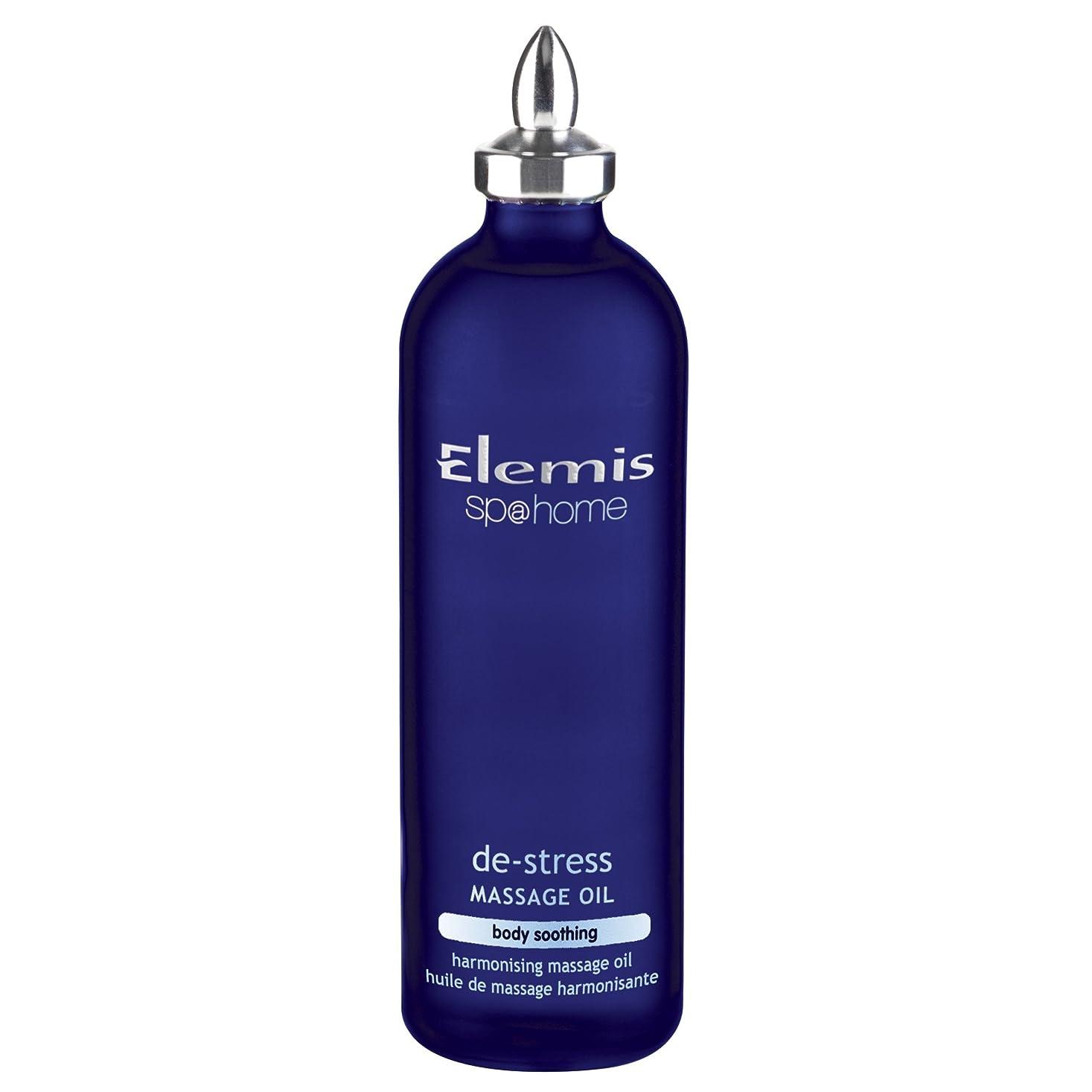 穏やかなメインファランクスエレミスストレス解消マッサージオイル100ミリリットル (Elemis) - Elemis De-Stress Massage Oil 100ml [並行輸入品]