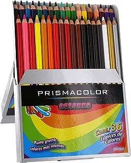 Prismacolor Colored Pencil Set, Assorted, 36-Count, Spanish Language