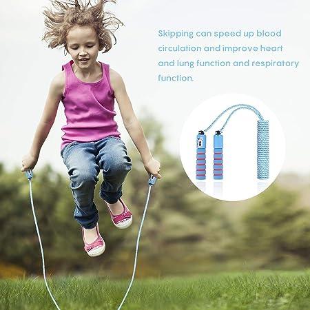 Eg /_ Di Numéro Compteur Sauter Corde à Adulte Enfants Fitness Perte Poids Ad