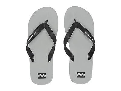 Billabong All Day Solid Sandal (Light Grey) Men