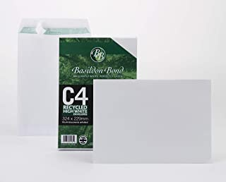 Celloexpress/® 40/mm della linguetta autosigillante dimensioni:/130/mm x 165/mm Buste per fogli formato C6 colore: trasparente in cellophane da 30 micron C Clear possono contenere fino a 10/biglietti e buste formato C6
