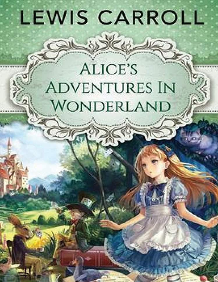 カスケード期間湿気の多いAlice's Adventures in Wonderland (Annotated)