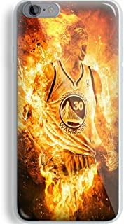 Stephen Curry Fire for iPhone and Samsung Galaxy Case (iPhone 6/6s white)