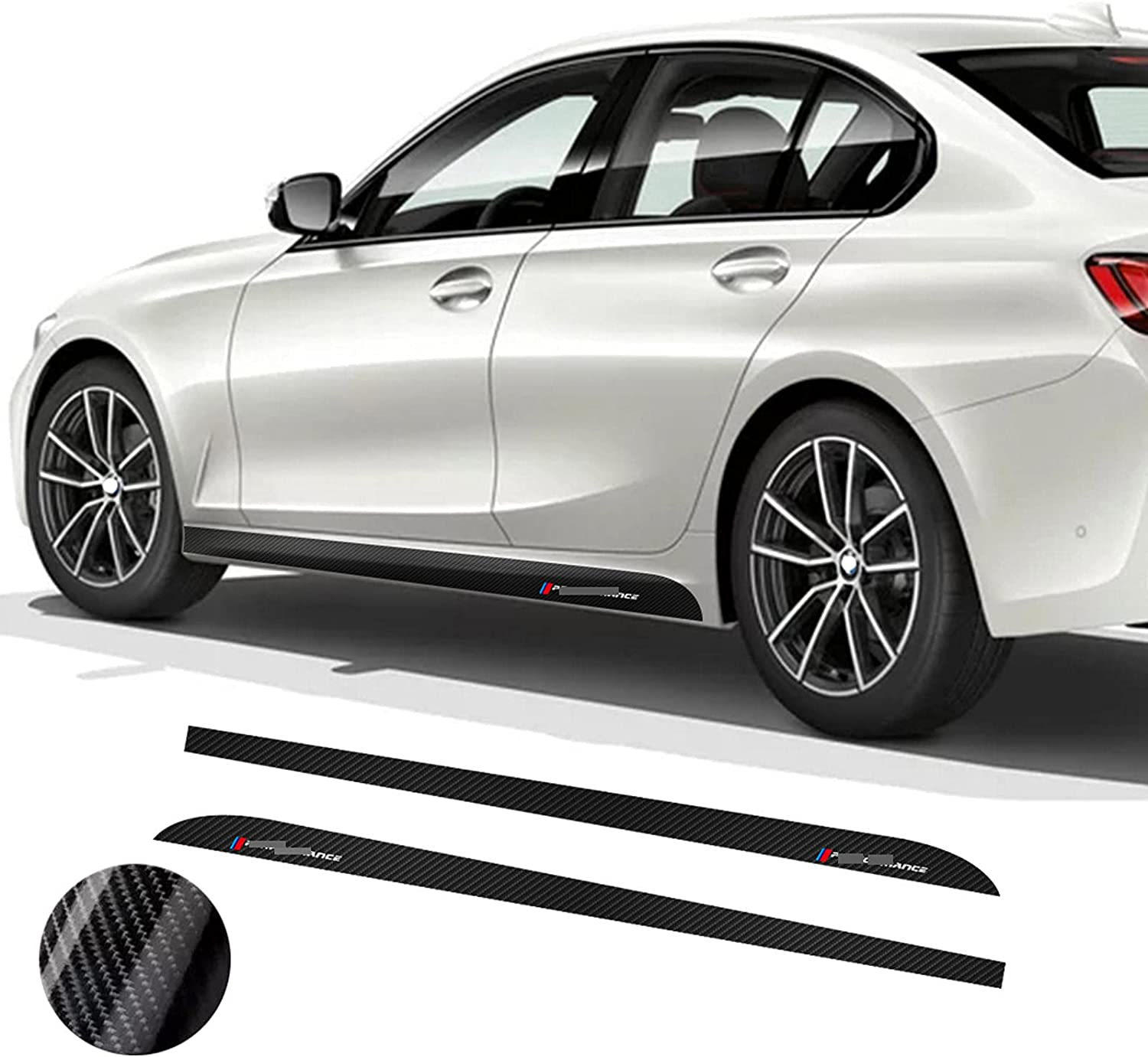 XKHSD Max 63% OFF Car Side Skirt Stripe Decal Decals 3 for Series Nashville-Davidson Mall BMW 2019-