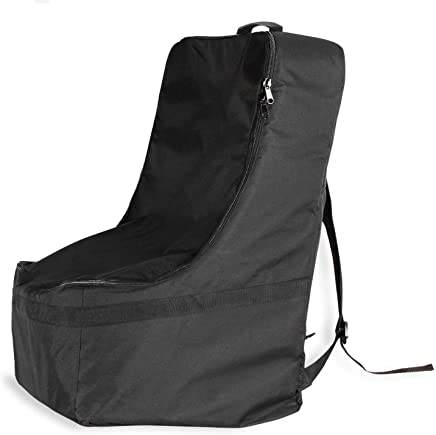Car Seat Travel Bag Infant Gate Check Bag Waterproof Durable Easier Carry Backpack Shoulder Straps Protect