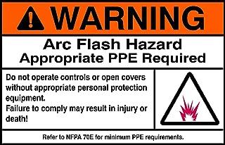 Best arc flash hazard sticker Reviews
