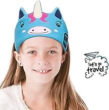 Einhorn Kopfhörer Kinder - Navly Magisch Einhorn Schlafmaske Kopfhörer Bluetooth Stirnband mit Ultradünnen Lautsprechern und Mikrofon, Kinderohrhörer für Schule, Zuhause, Party, Outdoor und Reisen