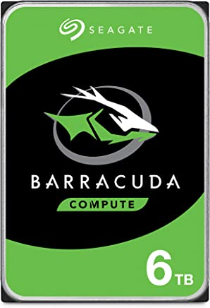 $137 Get Seagate Barracuda 6TB Internal Hard Drive HDD – 3.5 Inch SATA 6 Gb/s 5400 RPM 256MB Cache for Computer Desktop PC (ST6000DM003)