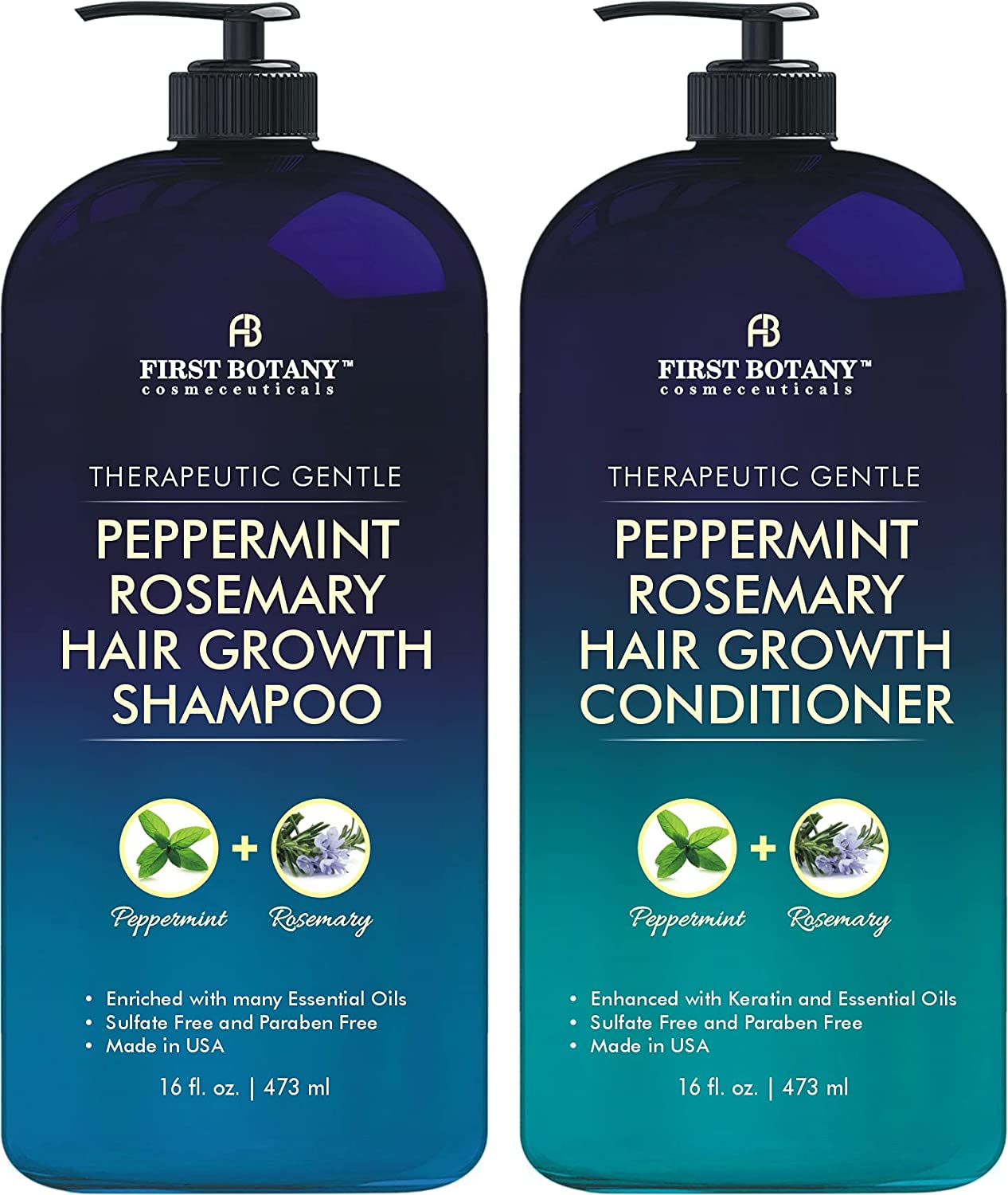 Peppermint Rosemary Hair Regrowth Anti and 70% OFF Outlet Ranking TOP12 Loss Shampoo