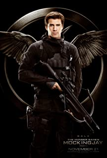 Movie Poster The Hunger Games 3 : Mockingjay Part 1 (2013) - Gale - 13 in x 19 in Flyer Borderless + Free 1 Tile Magnet