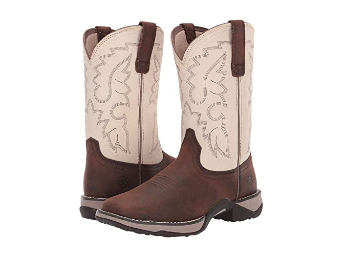 Ariat  Anthem II (French Roast/Sweet Cream) Cowboy Boots