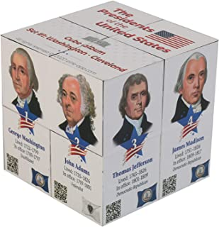 U.S Presidents Infinity Cube - Original, Fun 3D Educational for Kids and Adults - Learn About 22 American Presidents in an...