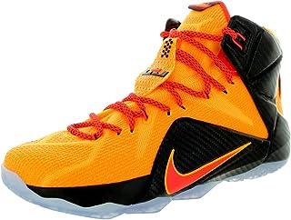 Color Black//Sail//Atomic Orange//Volt Nike Flyknit Max Mens Running Shoes Size US 12.5 Regular Width