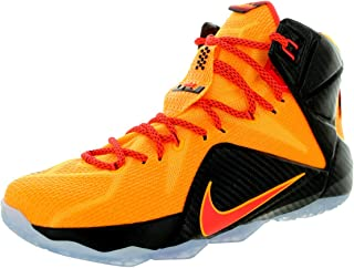 MENS LEBRON XII SNEAKER Orange - Footwear/Sneakers 8