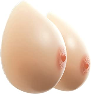 HIPLAYGIRL Silicone Breast Forms - Waterdrop Prosthesis Crossdress Mastectomy A -GG Cup
