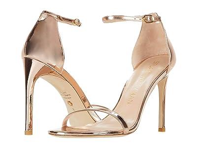Stuart Weitzman Nudistsong (Rose Gold) High Heels