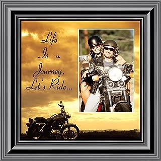 Motorcycle, Harley Davidson Personalized Picture Frame, Lets Ride Sky Personalized Picture, 9750B