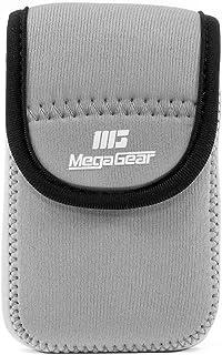 MegaGear Ultraleichte Kameratasche aus Neopren kompatibel mit Canon PowerShot SX620 HS, IXUS 175, IXUS 185, IXUS 180, IXUS 285 HS, IXUS 170, SX610 HS