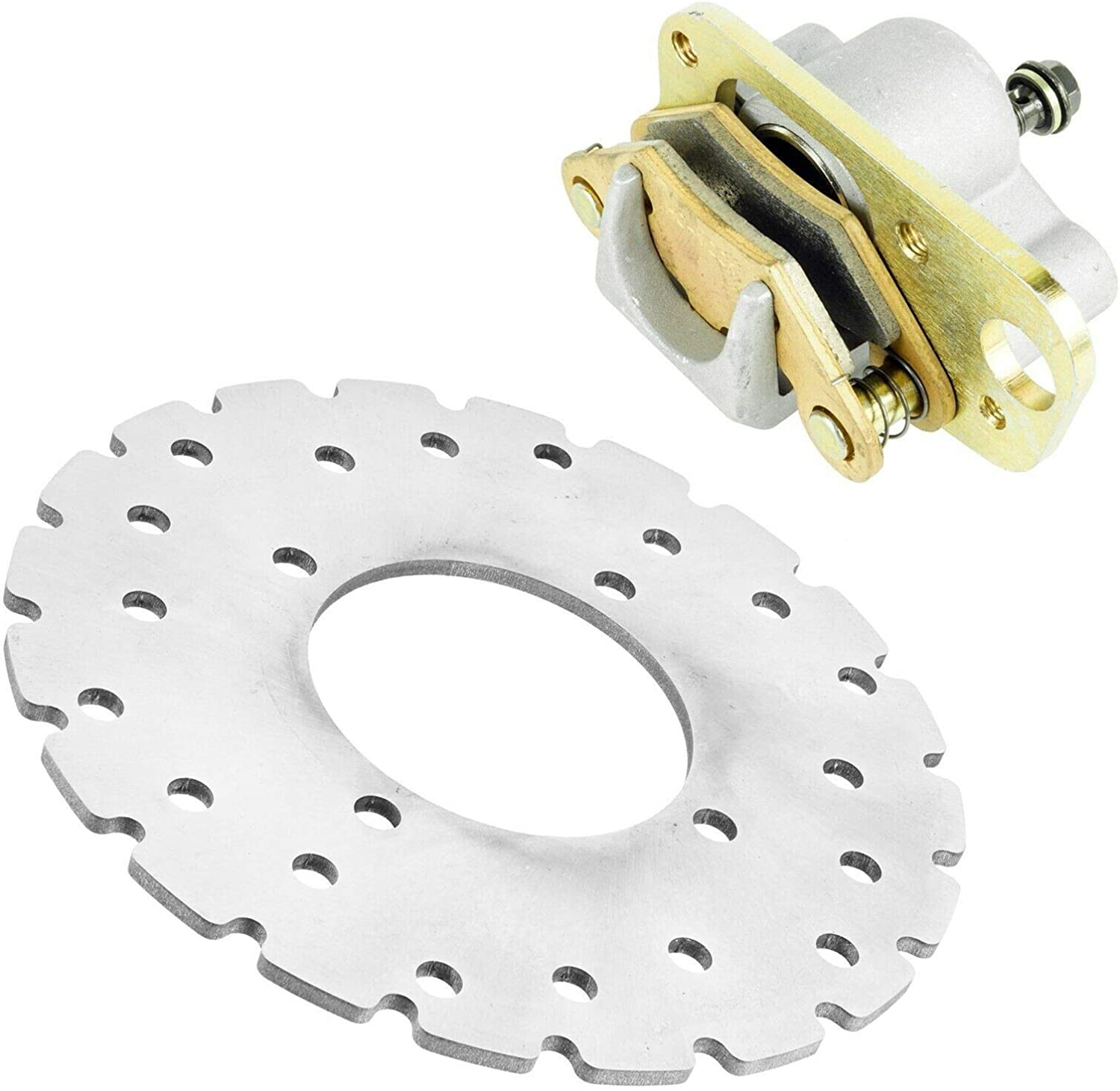 Caltric Compatible with Front New arrival Right Brake P Disc w Low price Caliper Rotor