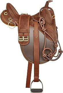 australian stock saddle with horn