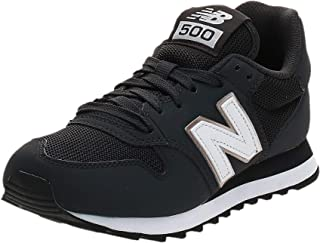 New Balance 500 Women's Sneakers, Black (Phantom), 35 EU