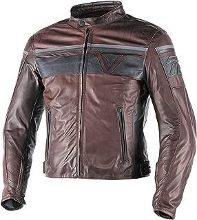 Dainese Blackjack Leather Jacket (50) (BROWN/BLACK/BLACK)