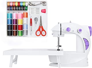 Mini máquina de coser portátil para principiantes, adultos