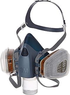 3M Gas- en dampmaskerset met 1 7503 halfmasker (maat L), 2 stuks 6055 A2 gasfilter, 4 stuks 5935 P3R deeltjesfilter, 2 stu...