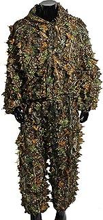 comprar comparacion Traje de camuflaje en 3D con hojas, para caza, tiro con arco y pesca, incluye pantalón y chaqueta