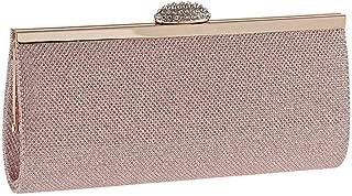 HAOXIONG-ZHANG New Bright Eventide Dinner Bag with Diamond Fashion Handbag PU Leather Small Lame Bag European Beauty Handbag Practical