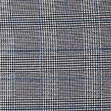 Fabulous Fabrics Jersey königsblau, Karo, 145cm breit