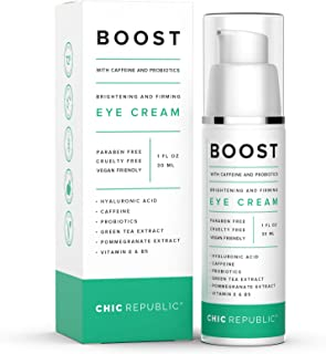Caffeine Under Eye Cream - Natural Caffeine Eye Cream for Dark Circles and Puffiness - Look and Feel Younger with Hydrated...