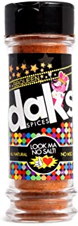 DAK's BBQUEEN - 100% Sodium Free! Made in the spirit of Memphis style dry rub, this rub gives meat a flavorful coating without any salt.