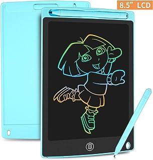 HOMESTEC Tableta Escritura LCD Color 8,5 Pulgadas, Tablet Dibujo, Tablet para Dibujar para Niños. Juguete Educativo (Azul)