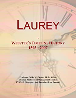Laurey: Webster's Timeline History, 1593 - 2007