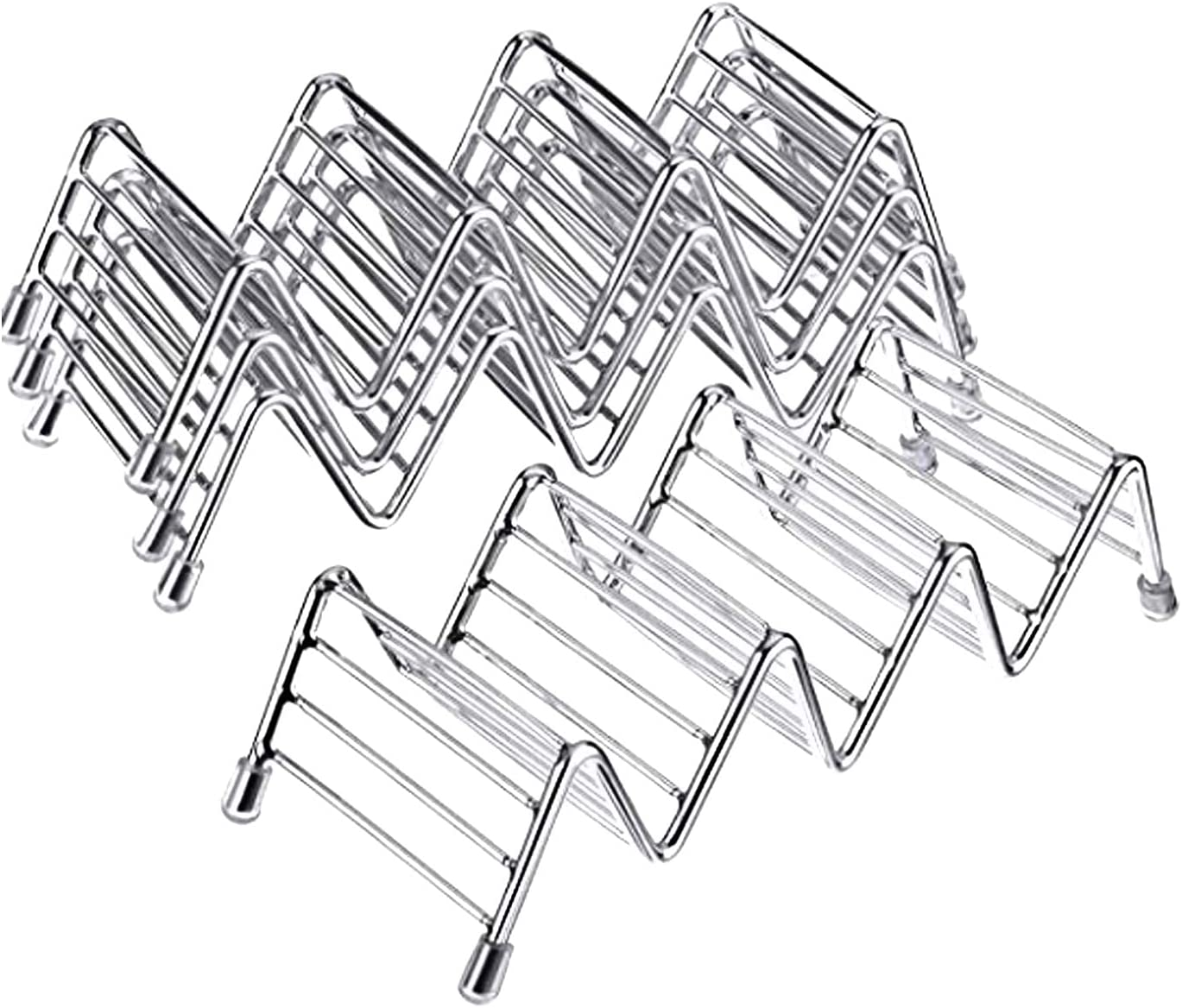 Taco Holder taco online shop Spring new work one after another holder stand Steel H Good Rack Stainless