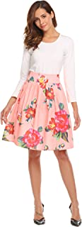 Best peach floral skirt Reviews