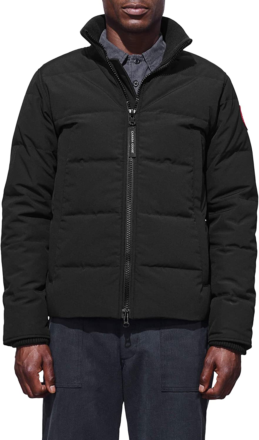 Woolford Recommended Slim Fit Limited price sale Down Jacket Black Bomber