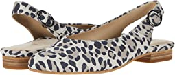Taupe Multi Silky Suede Leopard Print
