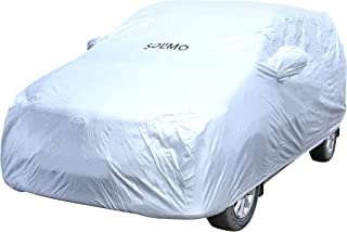 Amazon Brand - Solimo Toyota Innova Water Resistant Car Cover (Silver)