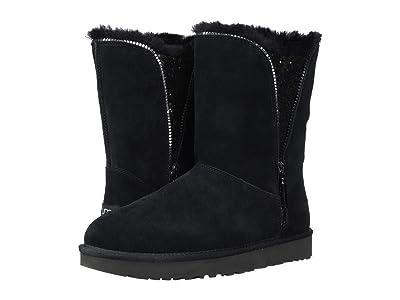 UGG Classic Zip Boot (Black) Women