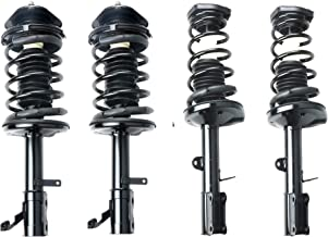 MOSTPLUS Front & Rear Complete Strut & Spring Assemblies Shock Absorbers For 93-02 TOYOTA COROLLA (Set of 4)