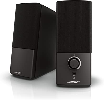 Bose Companion 2 Series III parlantes multimedia para PC (con entrada para PC y auxiliar de 3.5 mm)