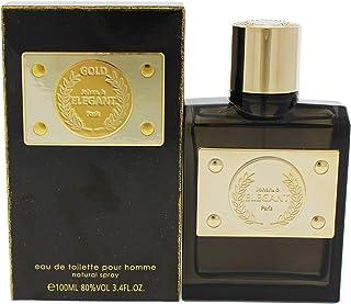 Elegant Gold by Johan B for Men - 3.4 oz EDT Spray