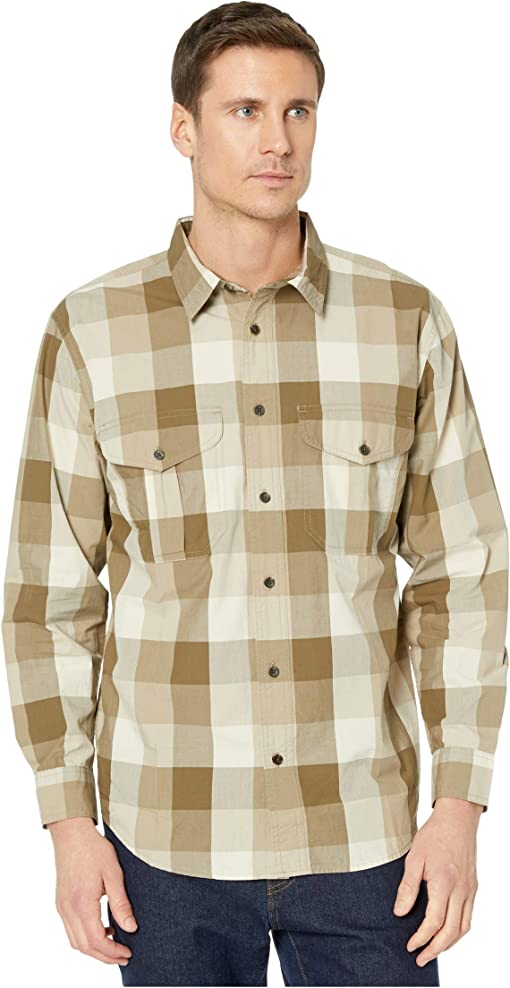 Tan/Olive/Khaki Plaid